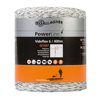 Gallagher Gallagher Vidoflex 6 PowerLine 400 m - White