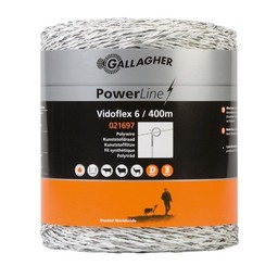 Vidoflex 6 PowerLine 400 m - White