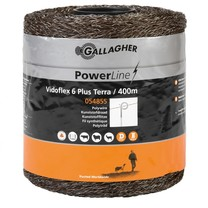 Gallagher Gallagher Vidoflex 6 PowerLine 400 m - Terra