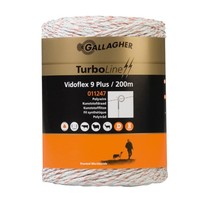 Gallagher Gallagher Vidoflex 9 TurboLine Plus White 200m