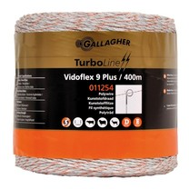 Gallagher Gallagher Vidoflex 9 TurboLine Plus White 400m