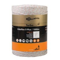 Gallagher Gallagher Vidoflex 9 TurboLine Plus White 1000m