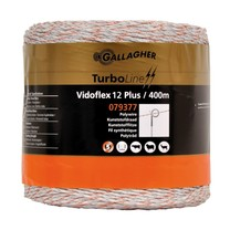 Gallagher Gallagher Vidoflex 12 TurboLine Plus White 400m