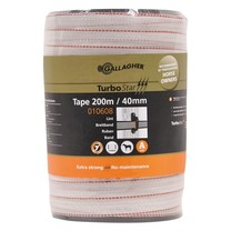 Gallagher Gallagher TurboStar Tape 40 mm | 200 m - White