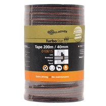 Gallagher Gallagher TurboStar tape 40mm Terra 200m