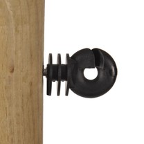 Gallagher 75x Gallagher Screw-in Insulator Economy - Black