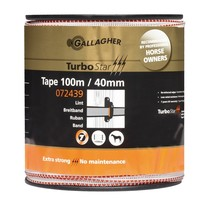 Gallagher Gallagher TurboStar tape 40mm White 100m