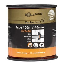 Gallagher Gallagher TurboStar tape 40mm Terra 100m