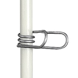 25x Inox Clip for Fibreglass Post