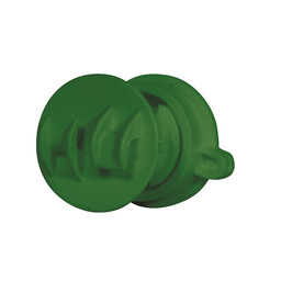 20x Screw-on Rod Insulator 6/14 mm - Green
