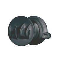 Gallagher 20x Gallagher Screw-on Rod Insulator 4/10 mm - Black