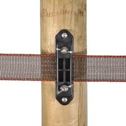 TurboLine Corner/Strain Insulator With Wingnut