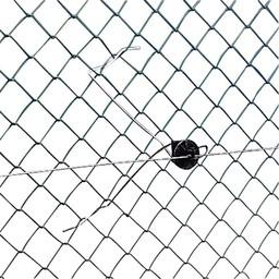25x Gallagher Offset Chainlink Insulator 30 cm - Black