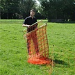 Gallagher Sheep netting Orange  - 90 cm, double pin