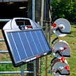 Fire Drake Solar Powered Electric Fence Energiser - 0.65J