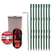 Mains Powered Electric Fence Kit for Pond Protection with Tape