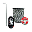 Mains Powered Electric Fence Standard Post & Rail Protector Kit - 200m