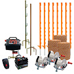 Electric Fence Kit for Badgers with 3 Reels - 500m