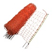 Poultry Netting 112 cm | 50 m Double Pin - Orange
