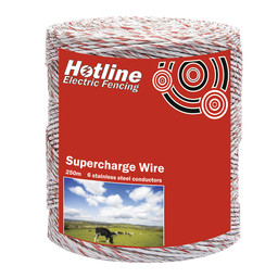 Hotline 6 Strand Supercharge Polywire - 250m