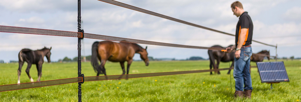 How does an electric fence work and what are the benefits?