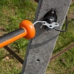 4x Three-Way Gate Handle Anchor