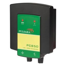 PC850 Hybrid Electric Fence Energiser/Charger - 12V/230V