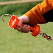 Soft Touch Gate Handle Regular Cord/Rope - Orange