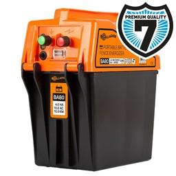 BA80 9V/12V Battery Fence Energiser/Charger