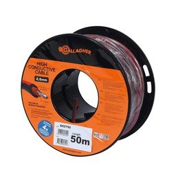Lead Out Cable XL Red 2.5 mm | 50 m