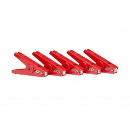 Crocodile Clip Red (Set of 5)