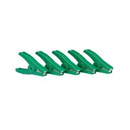 Crocodile Clip Green (Set of 5)