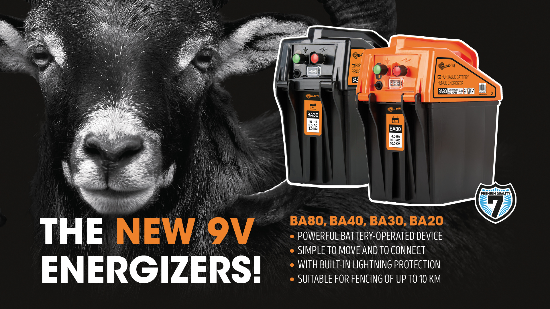The new 9 v energizers
