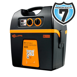 B200 Battery Powered Electric Fence Energiser/Charger (12V)