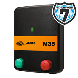 M35 Mains Powered Electric Fence Energiser/Charger (230V)