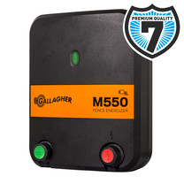Gallagher Gallagher M550 Mains Powered Electric Fence Energiser/Charger (230V)
