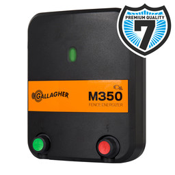 M350 Mains Powered Electric Fence Energiser/Charger (230V)