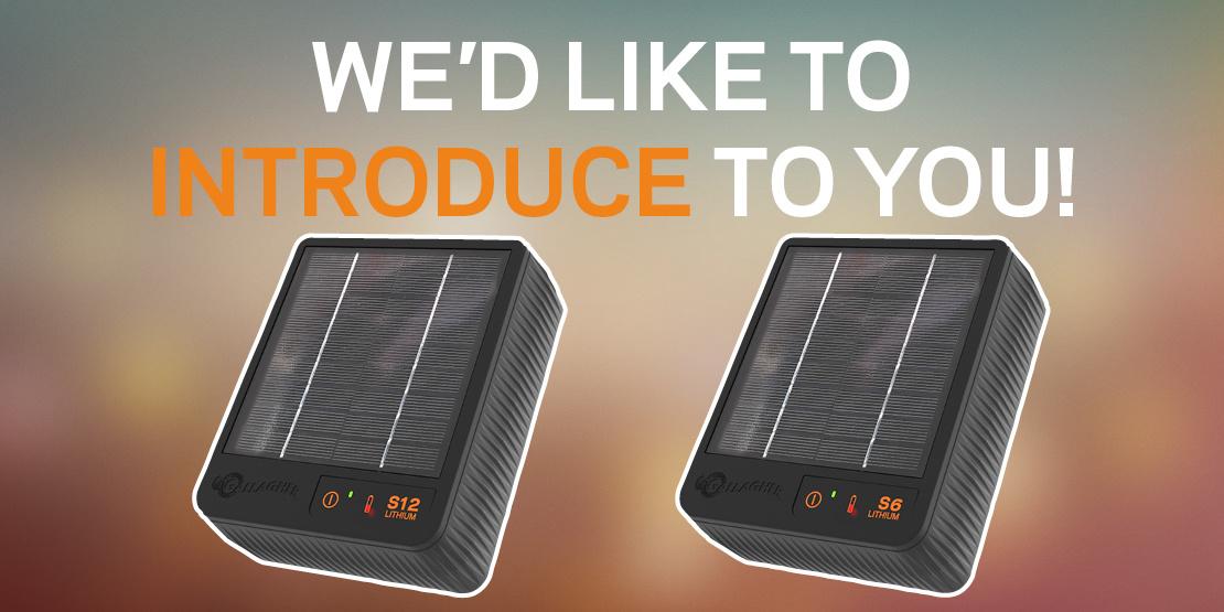 NEW Gallagher Solar Energisers