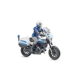 bworld Scrambler Ducati police motorcycle