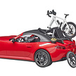 BRUDER Roadster with 1 road bike and cyclist