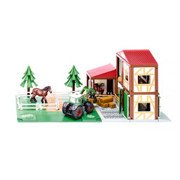 Siku Horse stable with accessories