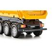 3-axled tipping semi trailer