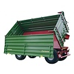 Two-sided tipping trailer