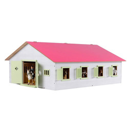 Horse stable with 7 stalls 1:24 from Kids Globe