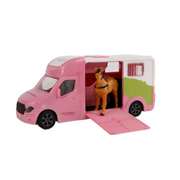 Anemone horse truck with light and sound 20cm