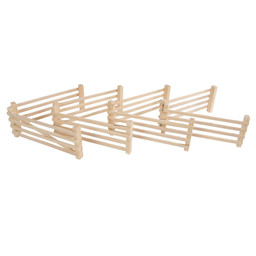 Wooden fences 1:24 from Kidsglobe.
