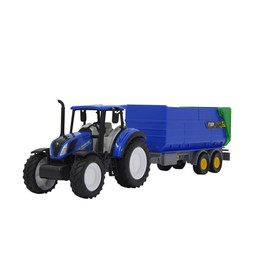 New Holland Tractor + Tipper set