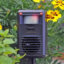 Pest-Free PLUS - Dual Light and Ultrasonic Deterrent