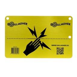 Gallagher Aluminium EU Warning sign  (1)