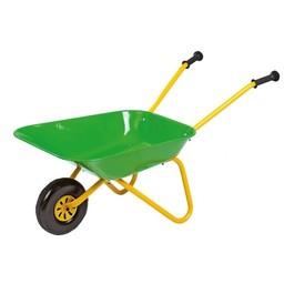 Rolly Toys Green Metal Wheelbarrow